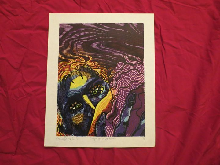 Caught in the Moment - DD Printmaking