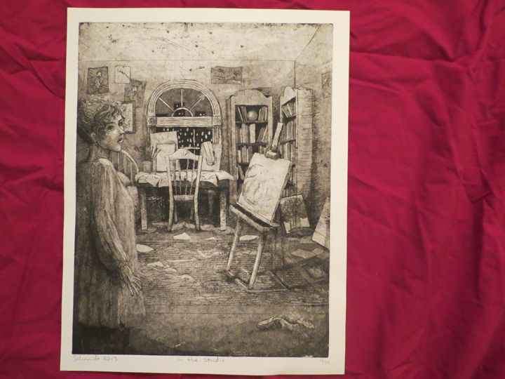 In The Studio - DD Printmaking