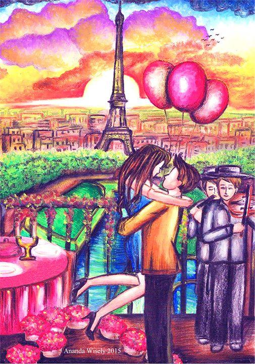 """A Love Story in Paris"" - Princess Shakira"