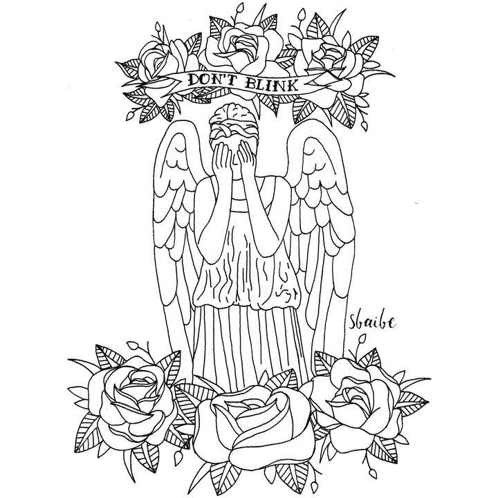 Weeping Angel - sbaibe