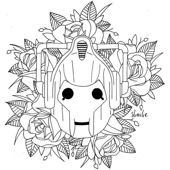 Cyberman & Roses - sbaibe