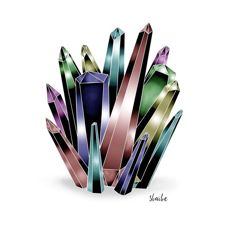 Crystal Cluster (Rainbow) - sbaibe