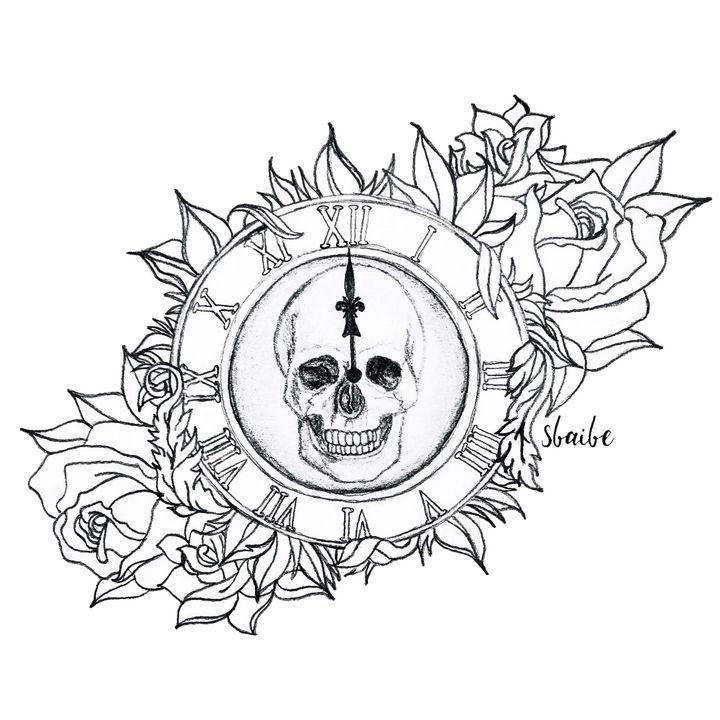 Skull & Roses - sbaibe