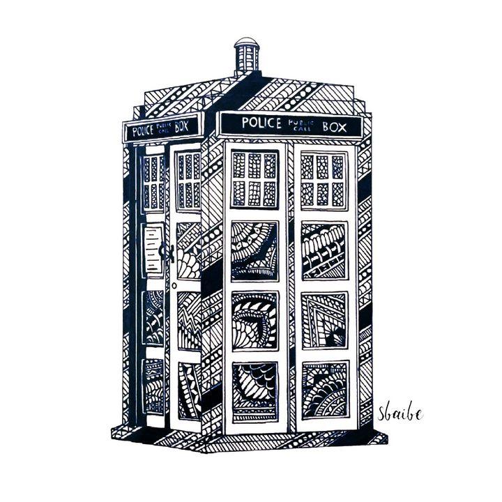 TARDIS - sbaibe