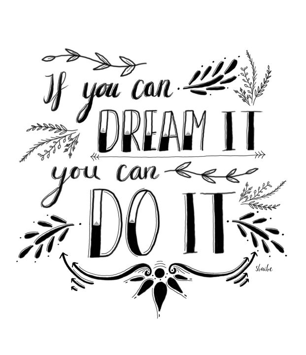 If You Can Dream it - sbaibe