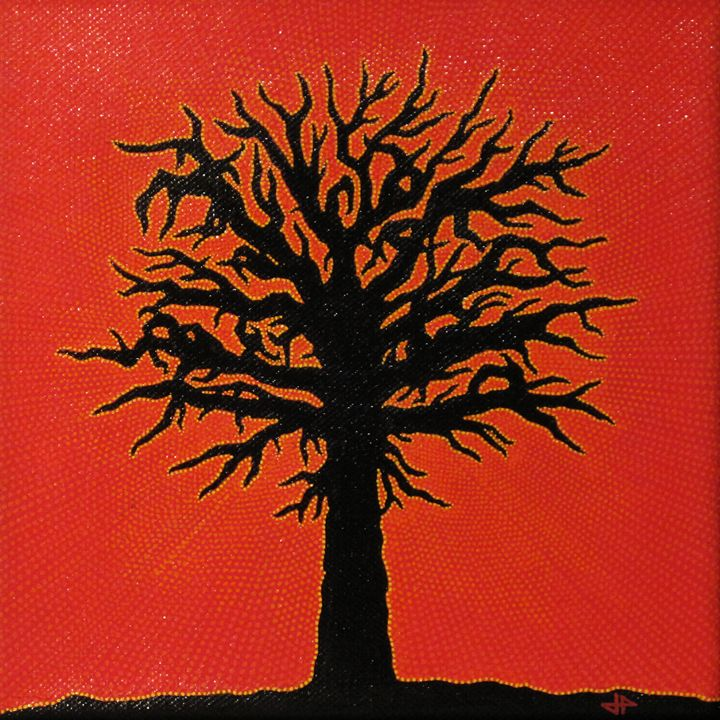 Red tree - Jonathan Pradillon