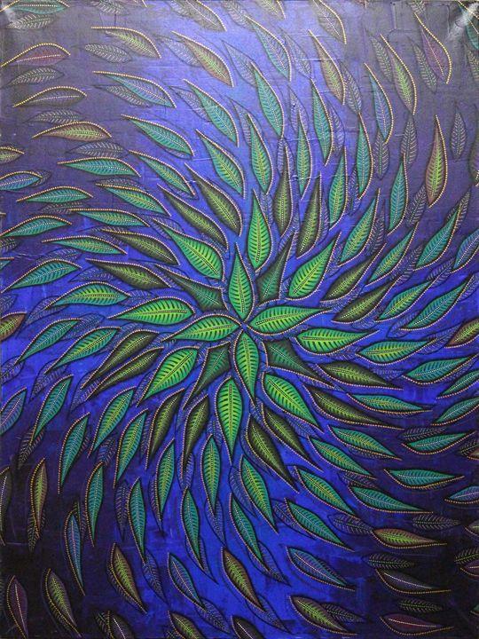 Spiral foliage - Jonathan Pradillon