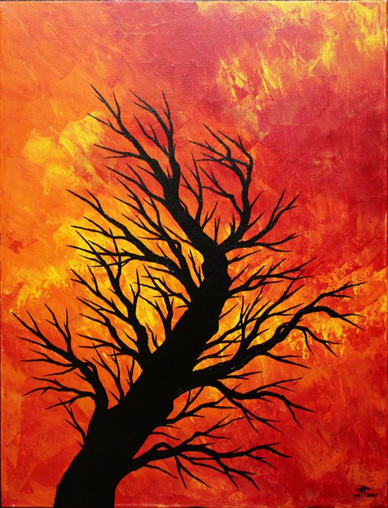 Blown tree - Jonathan Pradillon