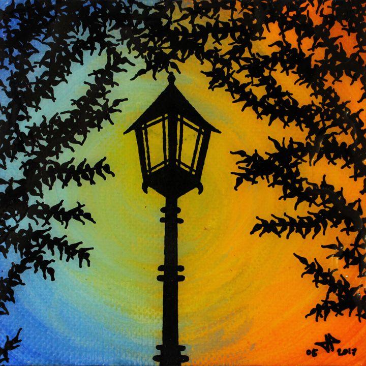 Street light day night - Jonathan Pradillon