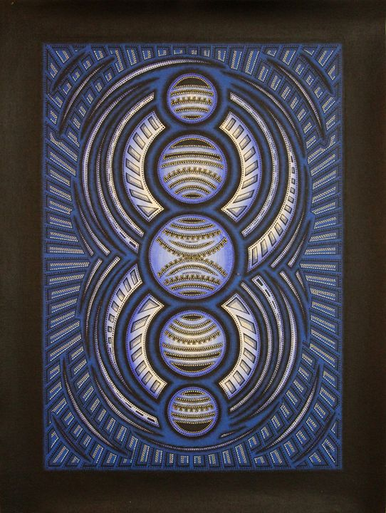 Blue cycle - Jonathan Pradillon