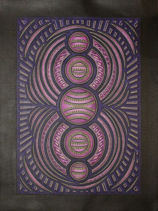 Purple cycle - Jonathan Pradillon