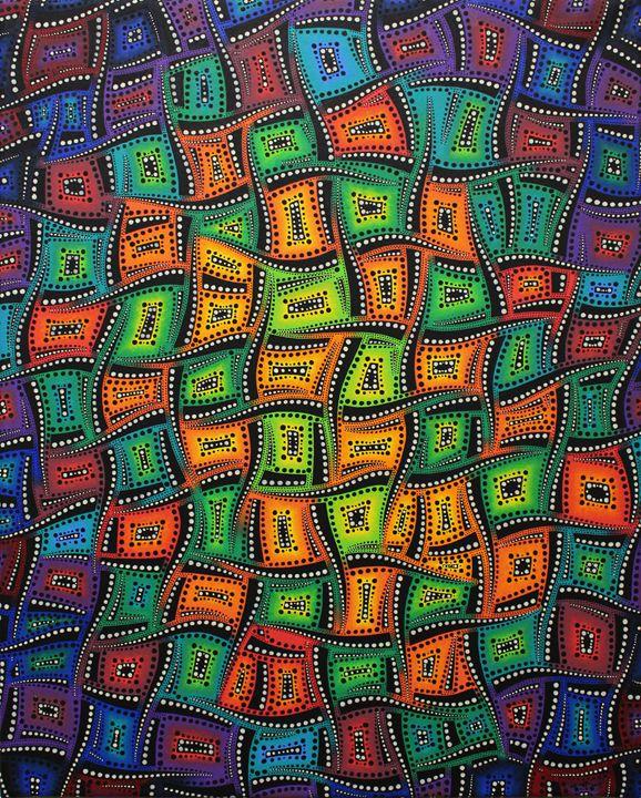 Mixed color movements - Jonathan Pradillon