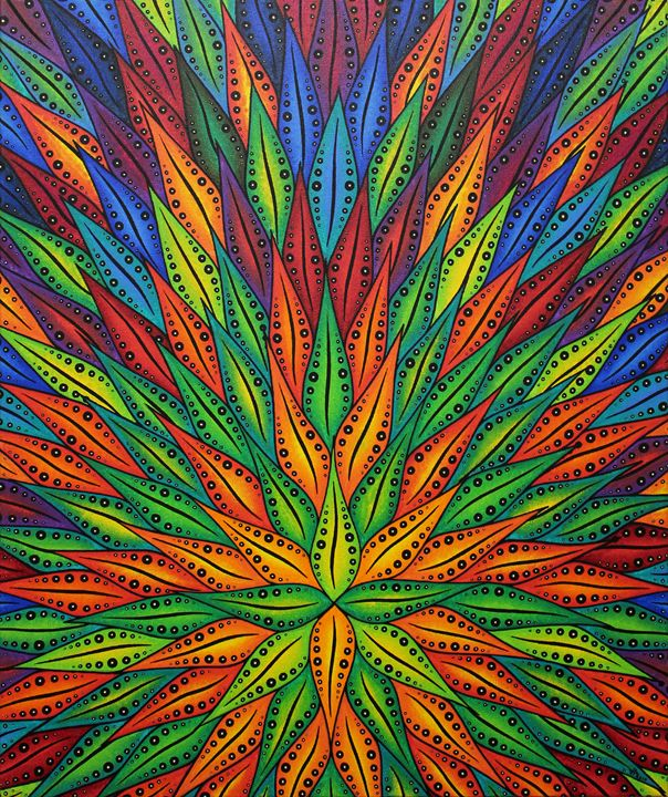 Color flowering - Jonathan Pradillon