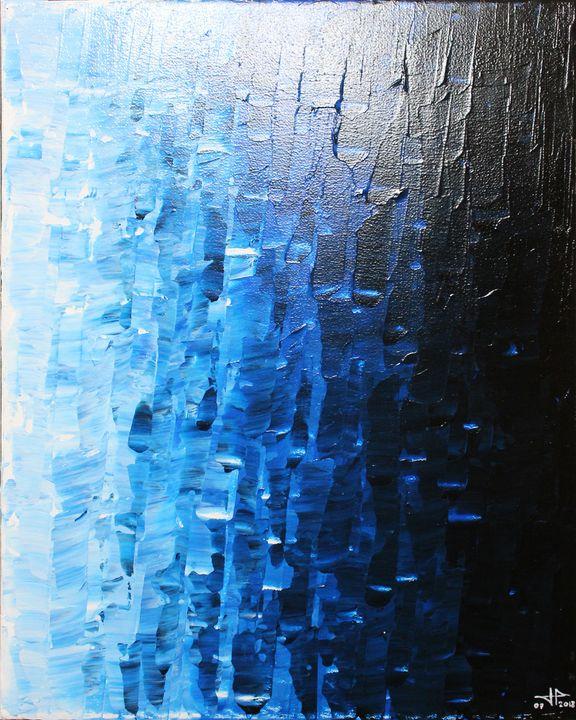 Bluish fade - Jonathan Pradillon