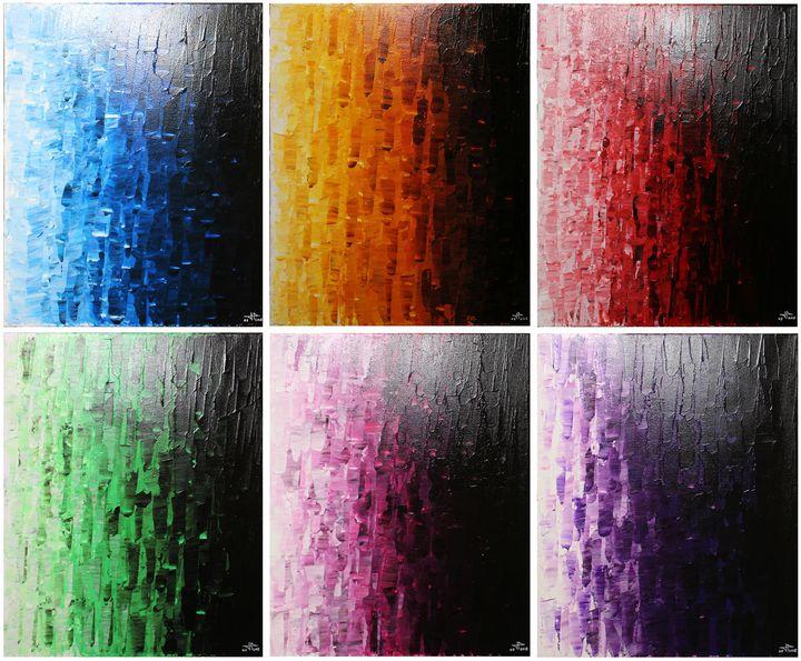 Colorful fades - Jonathan Pradillon
