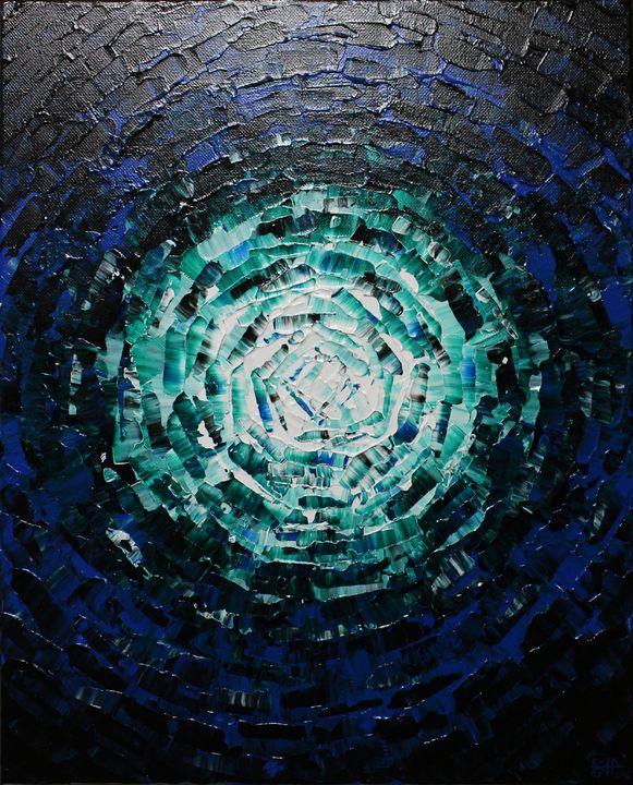 Shine of light blue glow - Jonathan Pradillon