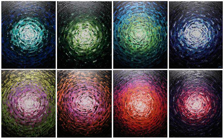 Shine of glow - Jonathan Pradillon