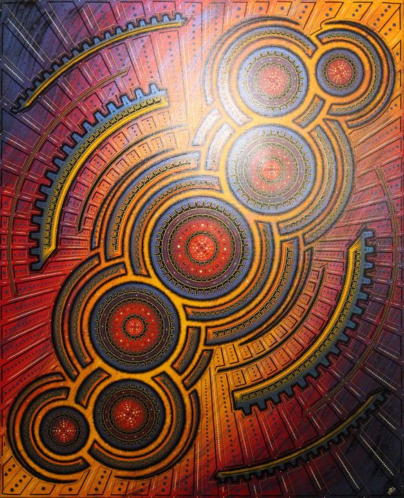 Infernal cycle - Jonathan Pradillon