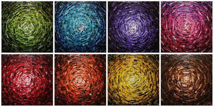 Shine of colored glow / 4 - Jonathan Pradillon