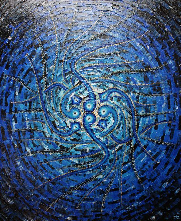 Bluish sense - Jonathan Pradillon