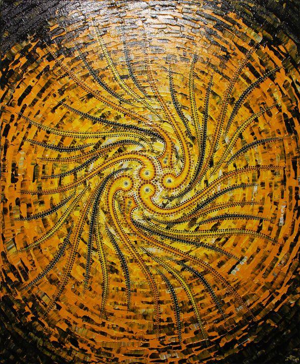 Yellowish sense - Jonathan Pradillon