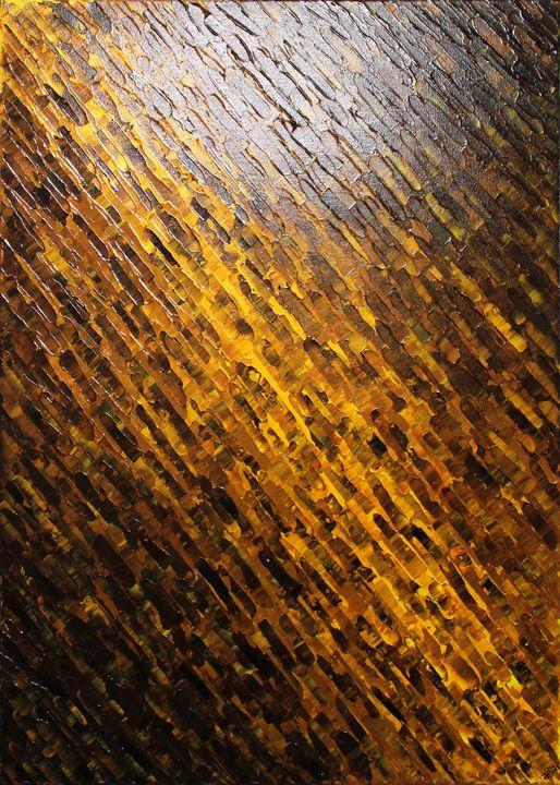 Brown yellow knife texture - Jonathan Pradillon