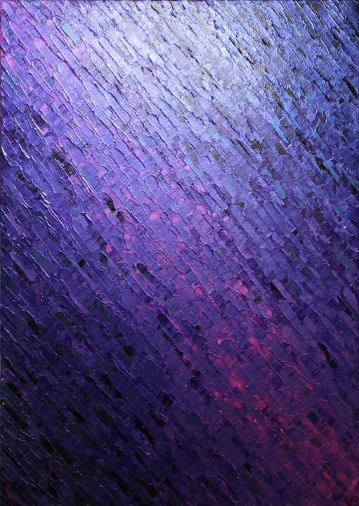 Purplish knife texture - Jonathan Pradillon