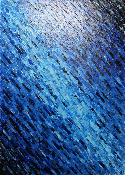 Blue knife texture - Jonathan Pradillon