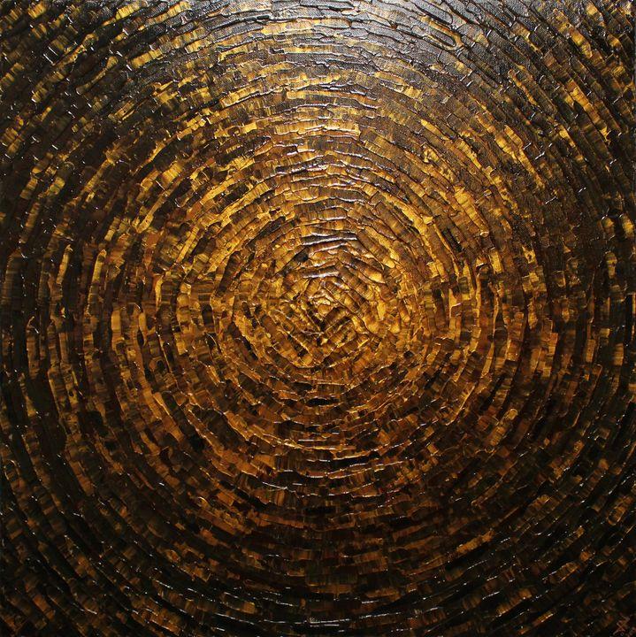 Shard of brown color - Jonathan Pradillon