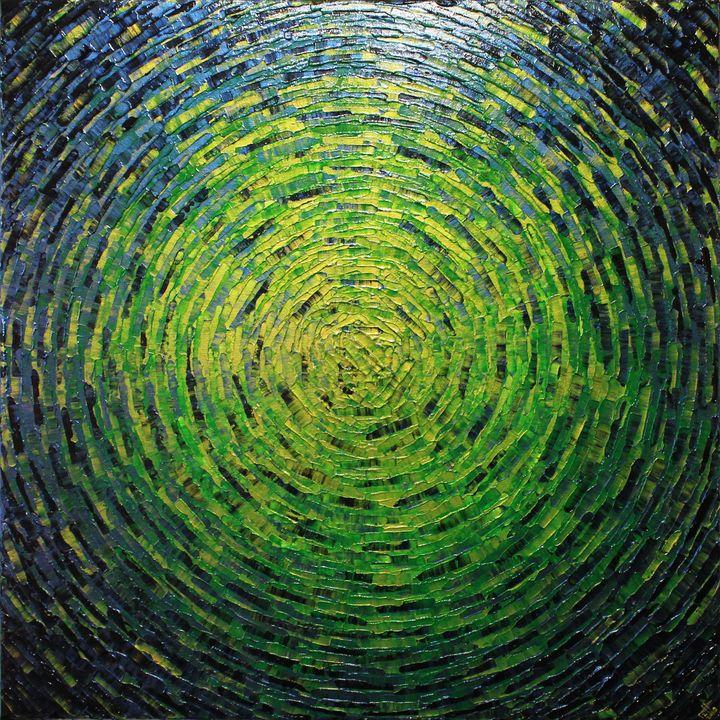 Shine of verdant color - Jonathan Pradillon