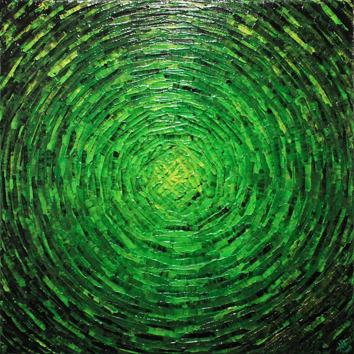 Burst of verdant color - Jonathan Pradillon
