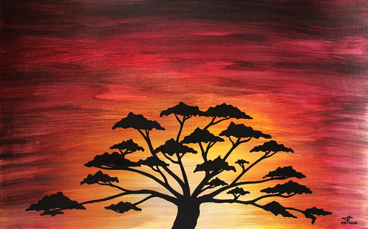 African sun - Jonathan Pradillon