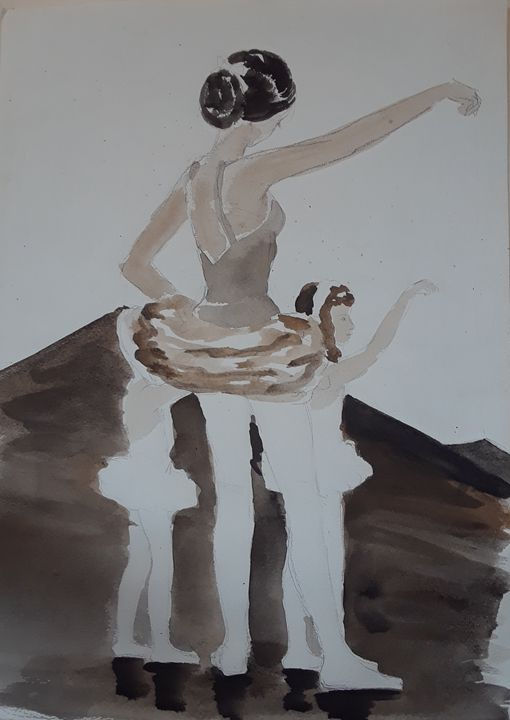 Dance Lesson - A Hart of Art