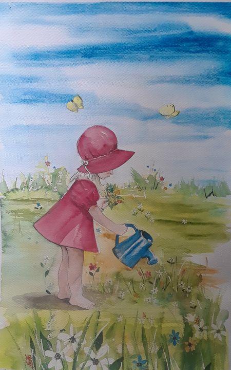 Miss Sweet Springtime - A Hart of Art
