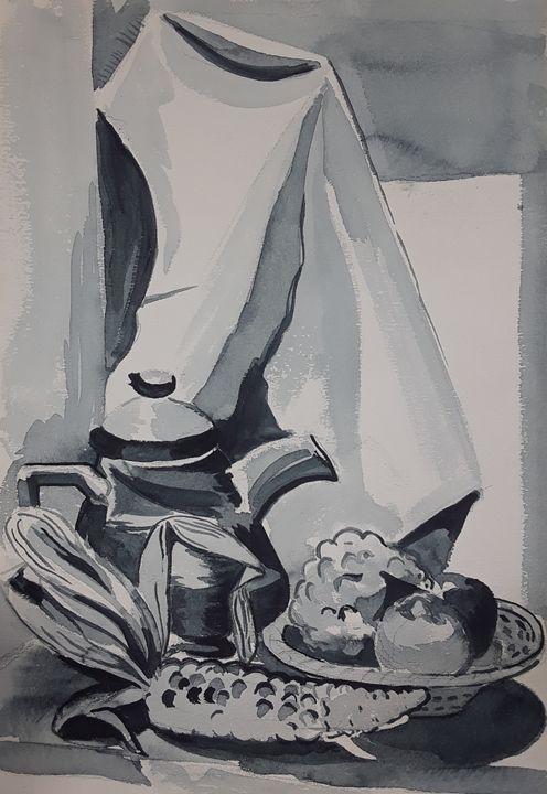 Still Life #2 - A Hart of Art