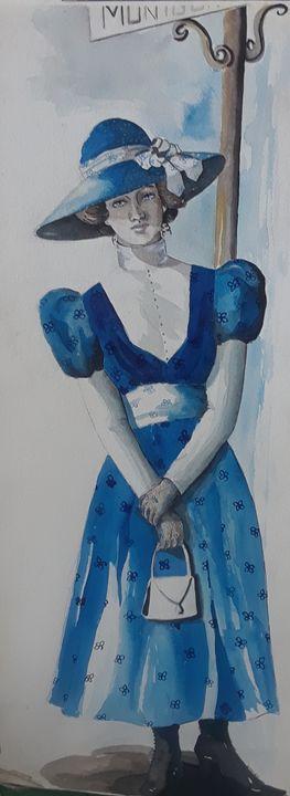 Blue Belle - A Hart of Art