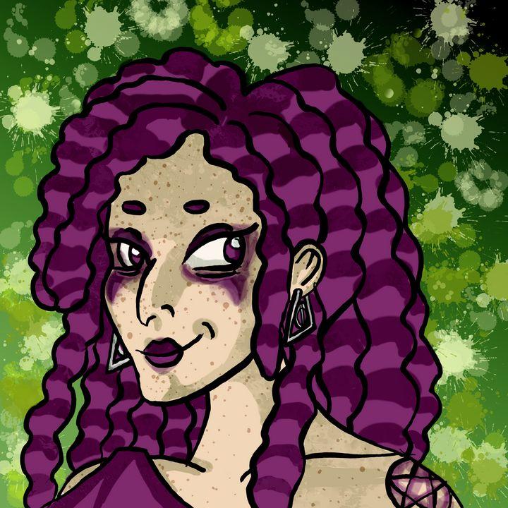Witchy Aunt - M. J. Star Art