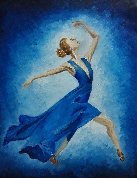 The ballerina - Radhi Artwork