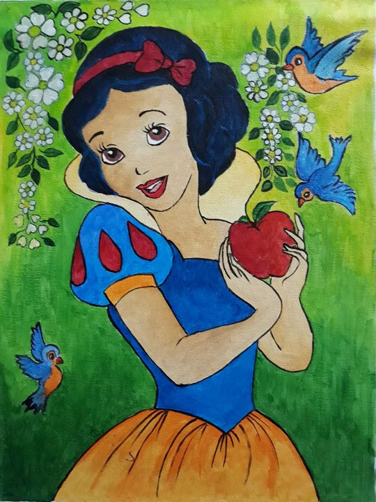 Snow White - Radhi Artwork
