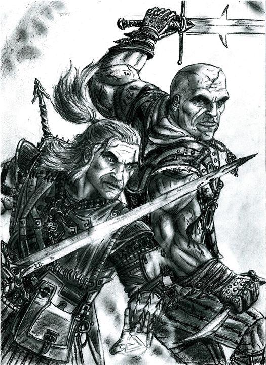 Geralt vs Letho - Bush Robert