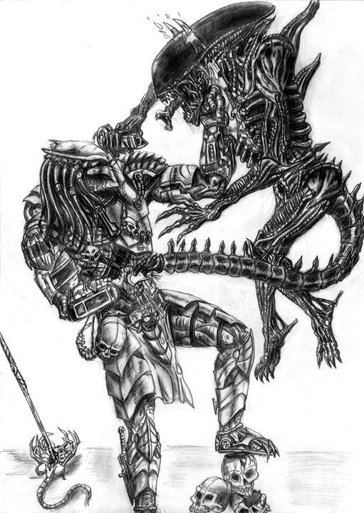 Alien vs Predator - Bush Robert