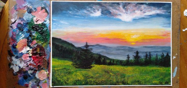 Bright horizon - Hanaanart