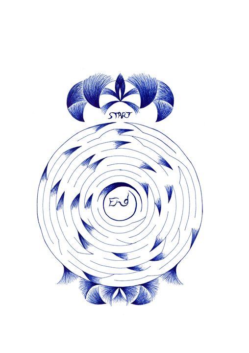 Circular  Maze - MalzMazes