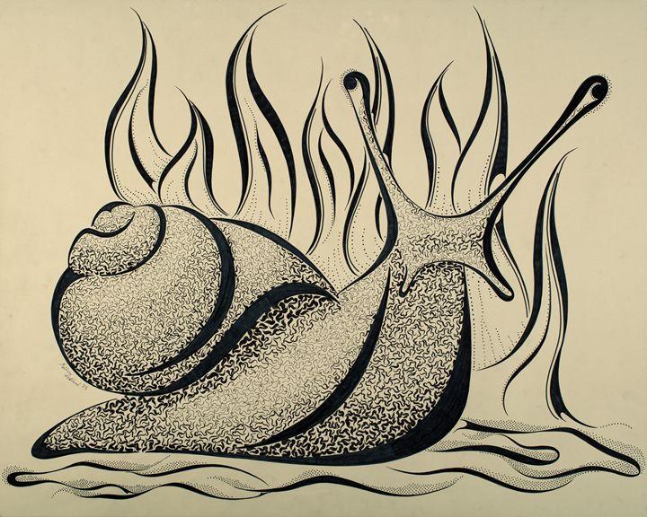Grumpy Snail Maze - MalzMazes