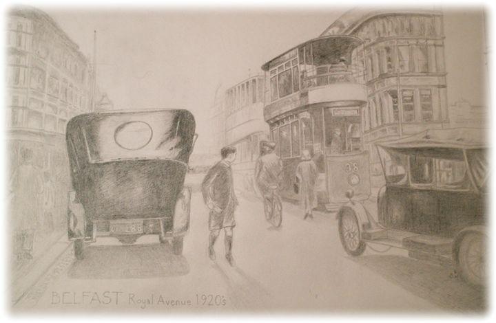 Belfast Royal Avenue 1920's - Samantha Wright