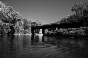 Steel Train Bridge