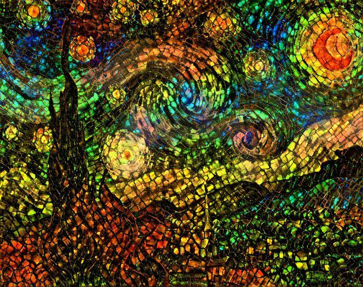 A Starry Night in Ammolite - tyberpunx