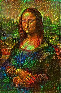 Mona Lisa in Ammolite