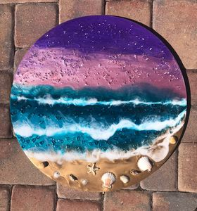 "23"" resin Starry night"