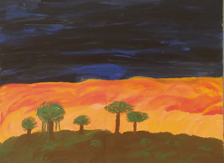 The Fire in the Sky - Brett Brooks